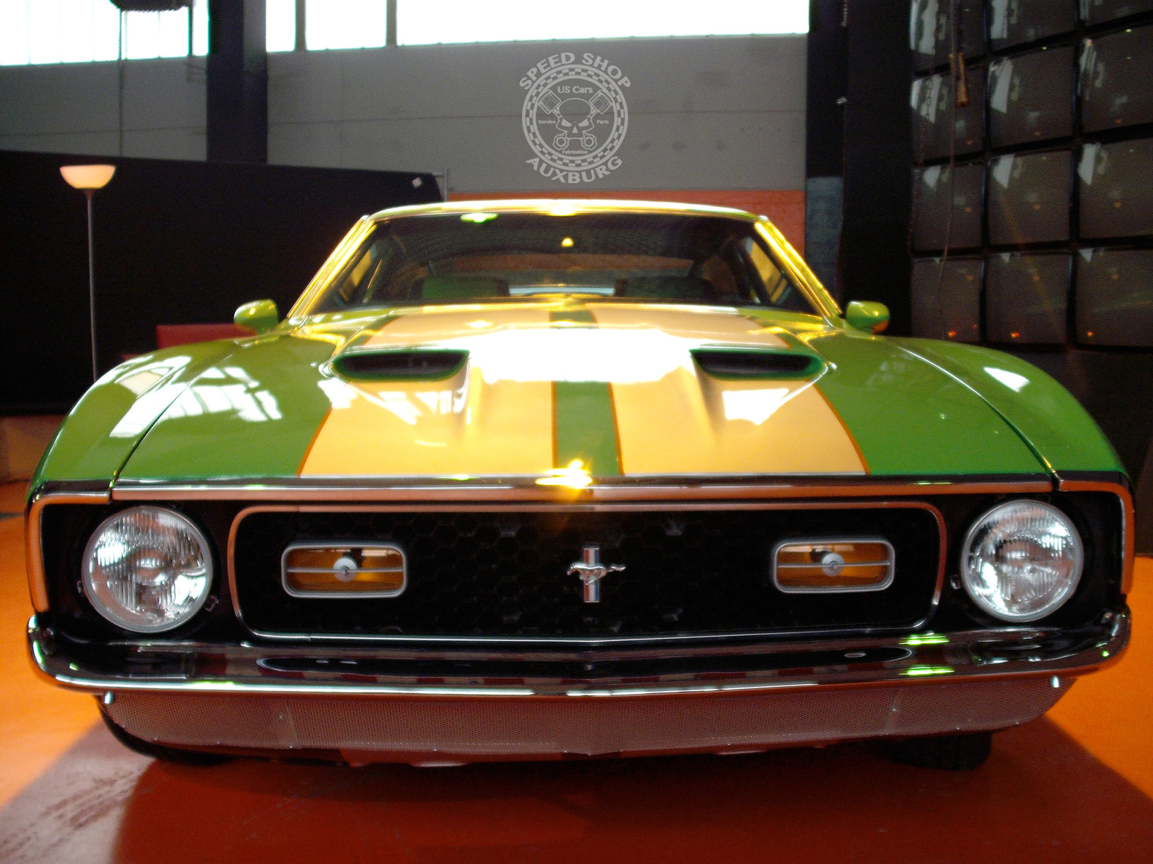 Ford Mustang Fastback Mach1 Auxburg-Speed-Shop.de